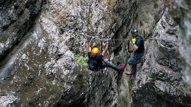Austria, Mountains, Alpine, Climb, Climbing