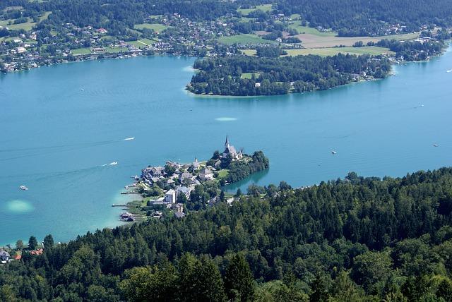 Carinthia, Lake, Wörthersee, Maria Wörth, Austria