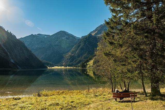 Vilsalpsee, Alpine, Bergsee, Mountains, More, Austria