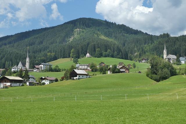 Gosau, Austria, Mountains, Alpine, Nature, Landscape