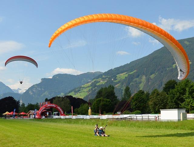 Paragliding, Zillertal, Austria, Tandem Jump, Mountains
