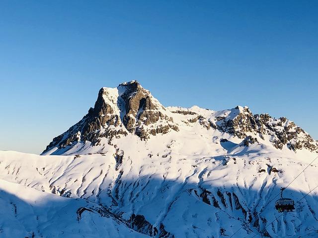 Mountain, Vorarlberg, Austria, Mountains, Alpine
