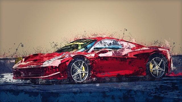 Ferrari, Auto, Vehicle, Automotive, Transport, Design