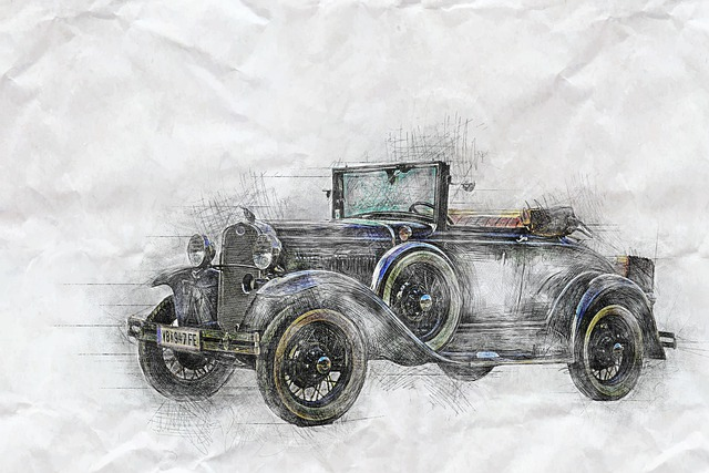 Auto, Oldtimer, Ford 1930, Automotive, Vehicle