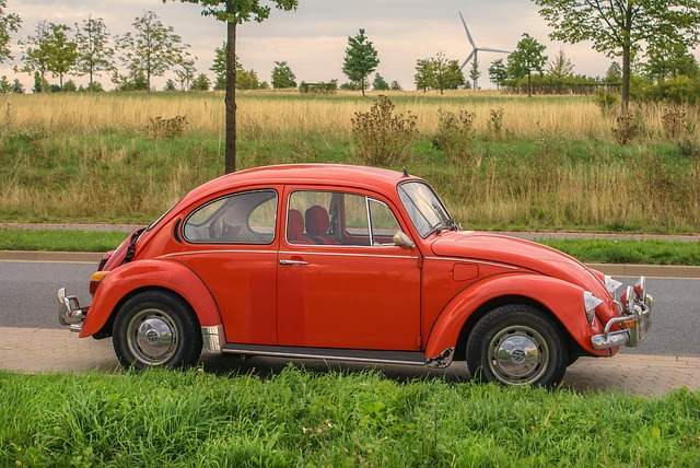 Auto, Vehicle, Vw Beetle, Volkswagen, Automotive