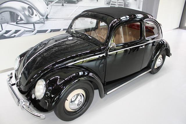 Autostadt Wolfsburg, Vw, Beetle, Black, Vw Beetle, Auto