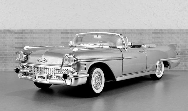 Model Car, Cadillac, Cadillac Eldorado, Auto, Old