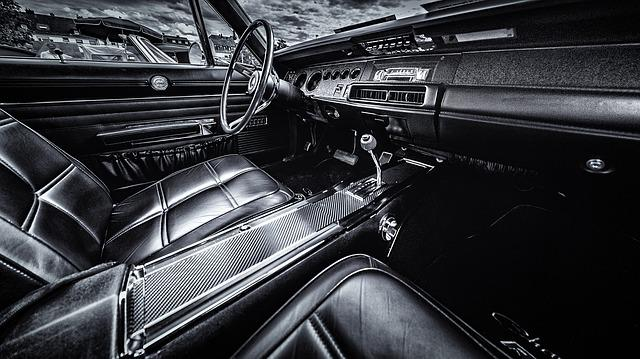 Cockpit, Charger, Dodge, Usa, Auto, Vehicle, Automobile