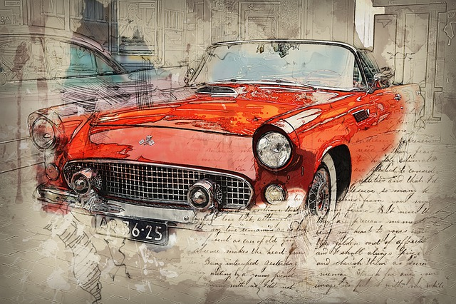 Auto, Old Timer, Us Car, Convertible, Automotive