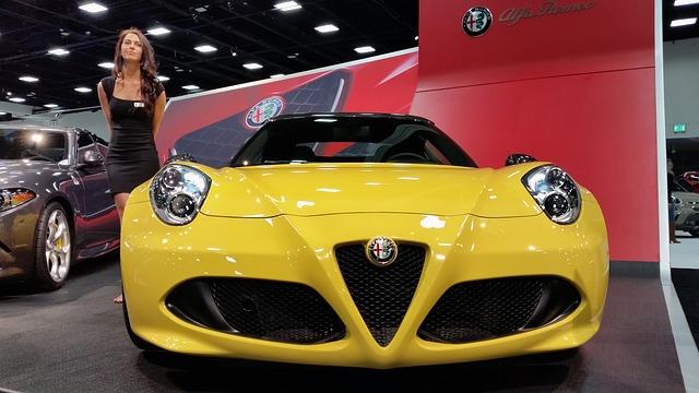 Alfa Romeo, Luxury, Auto, Sports Car, Car Show, Model