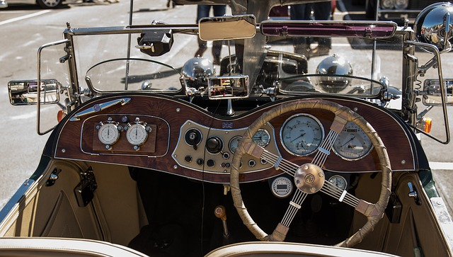 Cockpit, Dashboard, Mg, Steering Wheel, Auto