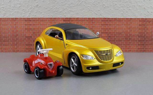 Model Car, Chrysler, Cruiser, Bobby Car, Model, Auto