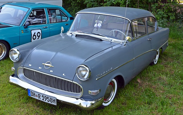 Oldtimer, Opel, Opel Record, Auto, Old, Classic, Pkw