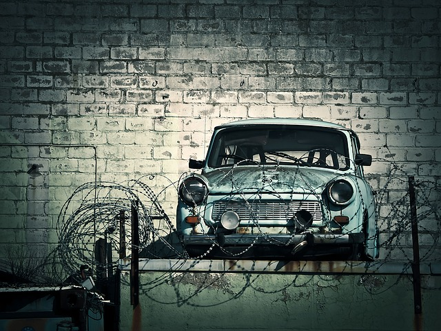 Scrap, Scrap Trade, Auto Recycling, Old, Satellite