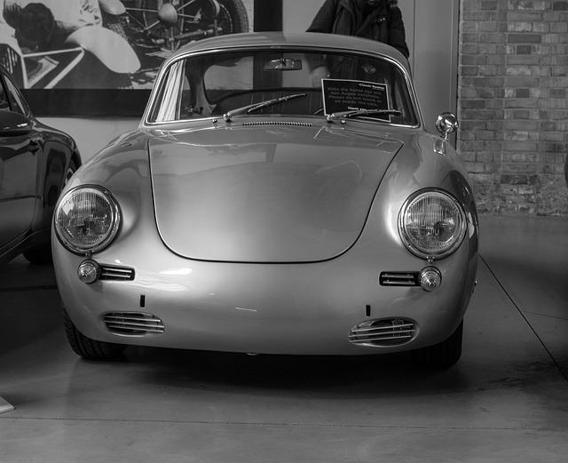 Auto, Porsche, Oldtimer, Classic, Sports Car, Coupe