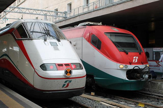 Transport System, Auto, Vehicle, Train, Motor, Italy