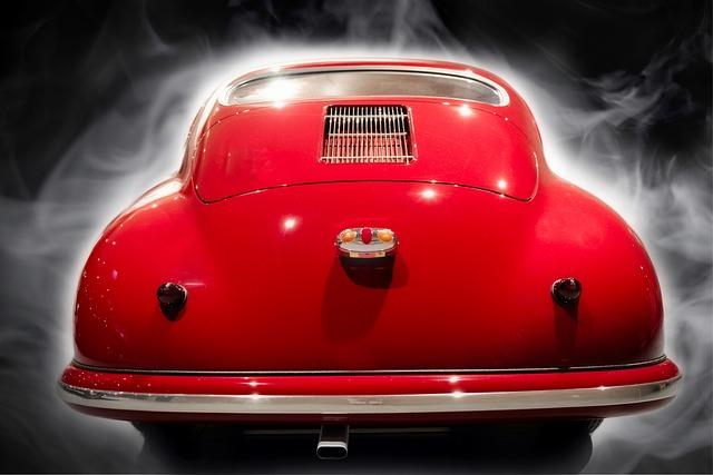 Porsche, Auto, Fog, Classic, Sports Car, Vehicle