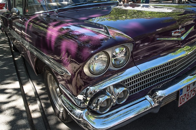 Auto, Chevrolet, Oldtimer, Chrome, Classic, Vehicle
