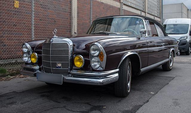 Auto, Mercedes, Transport System, Vehicle, Oldtimer