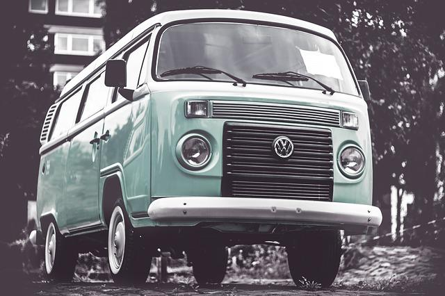 Vw Bully, Vw Bus, Camper, Antique, Auto, Automobile