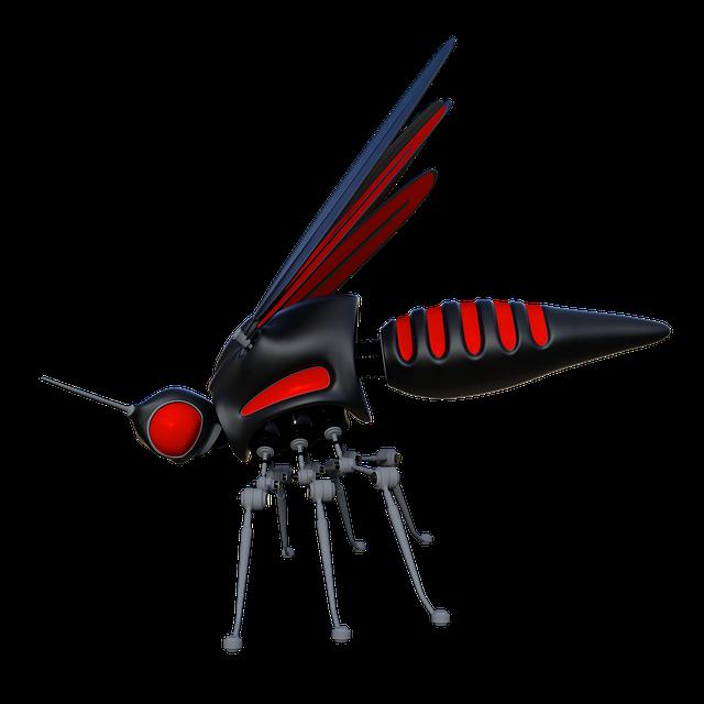Mosquito, Droid, Robot, Automation, Future, Tech
