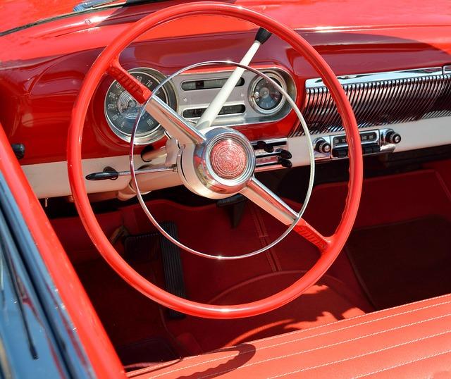 Car Interior, Design, Style, Car, Automobile