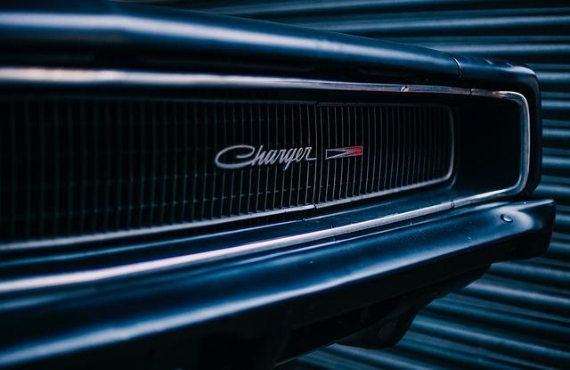 Dodge Charger, Car, Auto, Automobile, Vintage, Antique