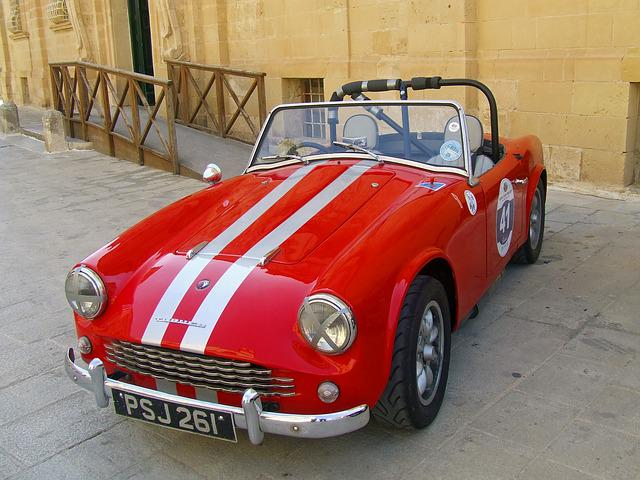 Red, Sports Car, Turner, Car, Vehicle, Automobile, Auto