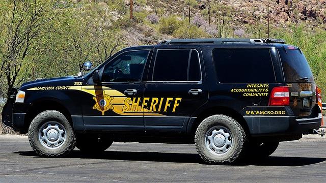 Transport, Car, Sheriff, Police, Vehicle, Automobile