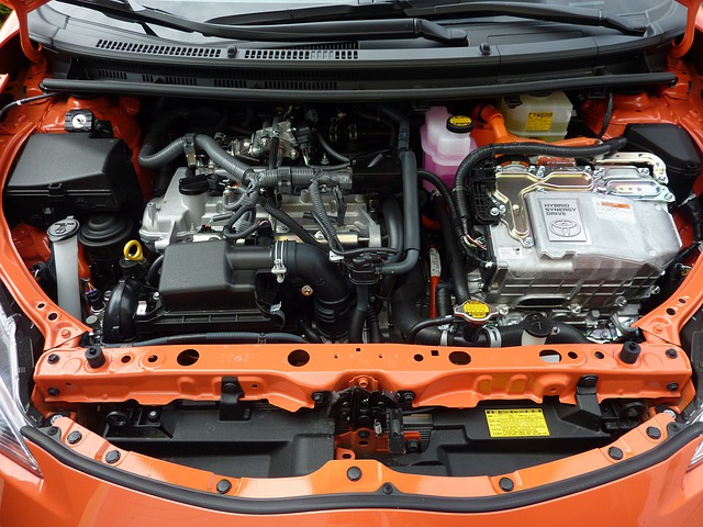 Car Engine, Prius C, Motor, Vehicle, Automobiles