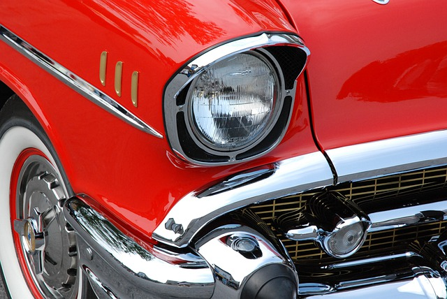 Classic Car, Red, Automobiles, Chevrolet, Vintage