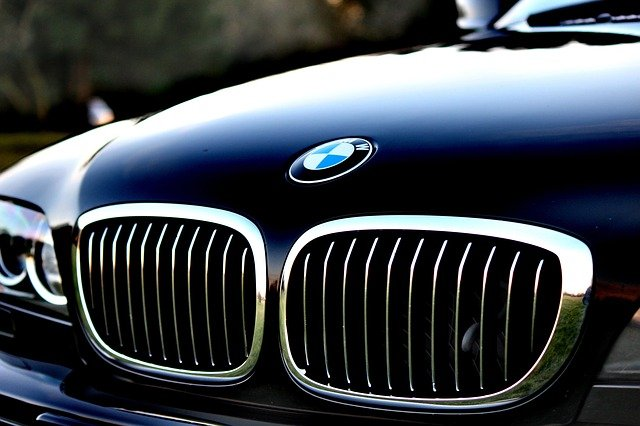 Automotive, Bmw, Car, Close-up, Grill, Hood, Vehicle