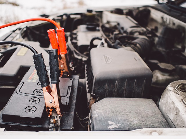 Jumper Cables, Battery, Engine, Car, Automotive