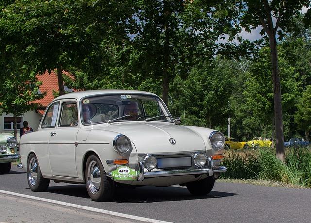 Auto, Vw, Boxer Engine, Oldtimer, Classic, Automotive