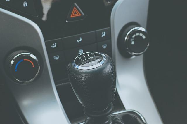Automobile, Automotive, Car, Gear Shift