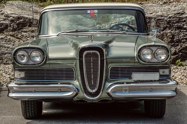 Edsel, Ford, Automotive, Retro, Classic, Usa, Luxury