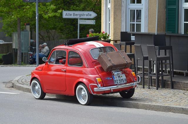 Fiat 500, Oldtimer, Cinquecento, Automotive, Vehicle