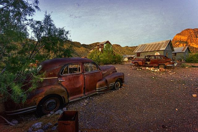 Historically, Autos, Oldtimer, Automobile, Retro