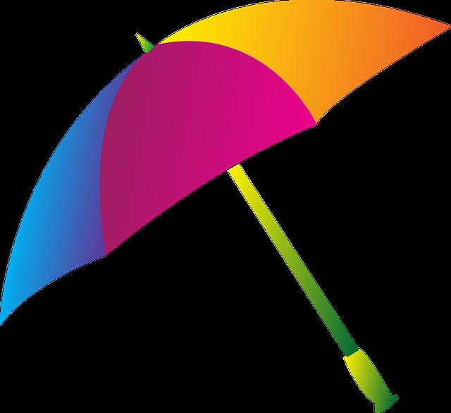 Umbrella, Color, Rain, Colorful, Water, Autumn, Nature