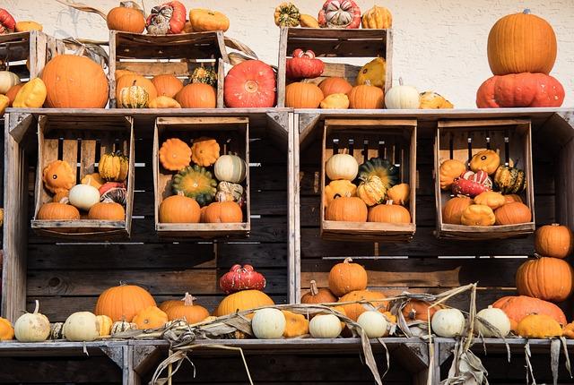 Pumpkin, Autumn, Pumpkins, Vegetables, Farmer's Market