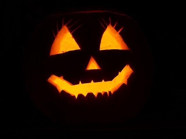 Pumpkin, Helloween, Face, Autumn, Halloween, Vegetables