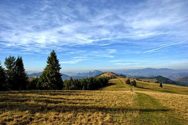 Pieniny, Mountains, Durbaszka, Autumn, Poland