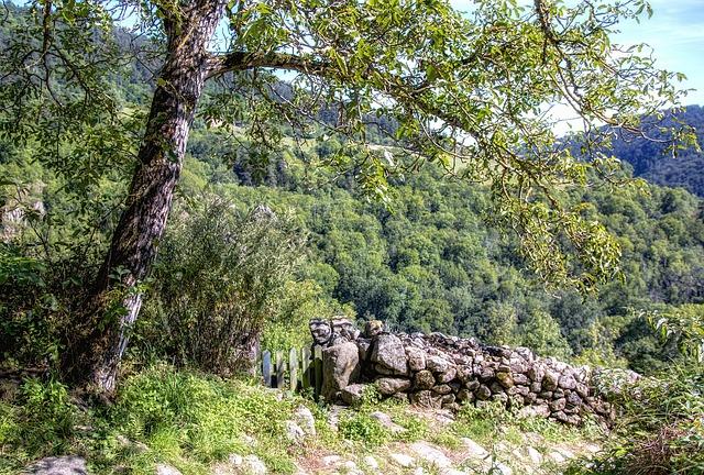 Chalencon, High-loire, Auvergne, Haute Loire, Nature