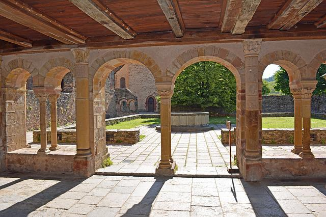 Conques, Aveyron, Abbey, Church, Pilgrimage, France