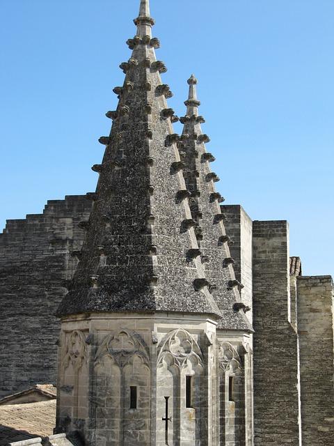 Avignon, Architecture, France, Cathedral