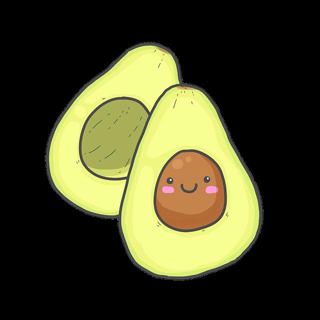Avocado, Green, Food, Healthy, Vegetarian, Vegetables