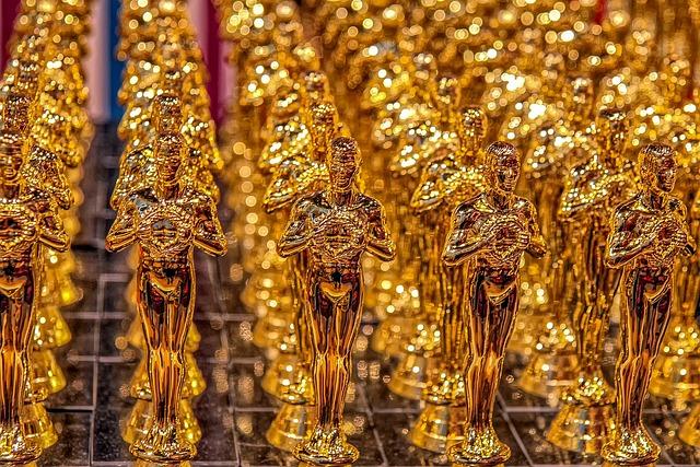 Oscar, Cup, Trophy, Gold, Replica, Gloss, Award, Winner