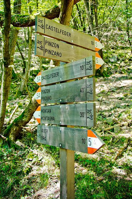 Directory, Signs, Note, Away, Signposts, Nature