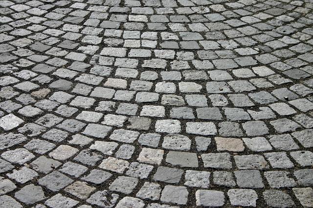 Cobblestones, Patch, Cobblestone, Away, Road