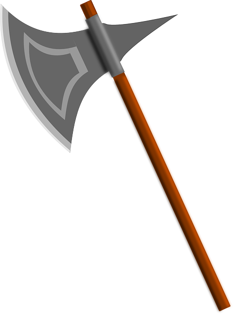 Battle Axe, Axe, Weapon, Executioner's Axe, Medieval